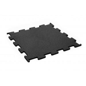 ReFlex gumilap fitness puzzle fekete 1,0x50x50 cm