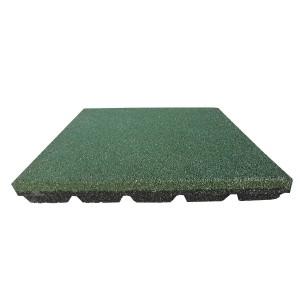 Gumilap esésvédő ReFlex - 6x50x50 cm zöld