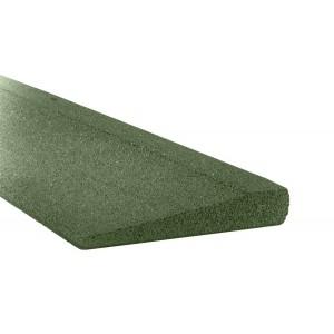 Gumilap rámpa ReFlex - 1/4 cm vastag 100x25 cm, zöld