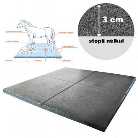 Gumilap EquiFlex istállópadló - 3x100x100 cm fekete st0