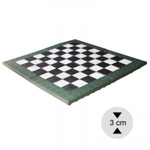 Gumilap sakk pálya ReFlex mini - 3x100x100 cm fekete