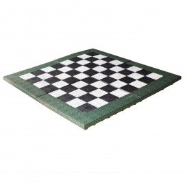 Gumilap sakk pálya ReFlex mini - 4x100x100 cm fekete