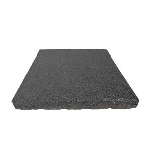 Gumilap esésvédő ReFlex - 8x50x50 cm fekete