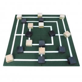 Gumilap malom játék ReFlex - 4x100x100 cm zöld