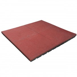 Gumilap esésvédő ReFlex - 7x100x100 cm vörös