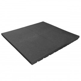 Gumilap esésvédő ReFlex - 7x100x100 cm fekete