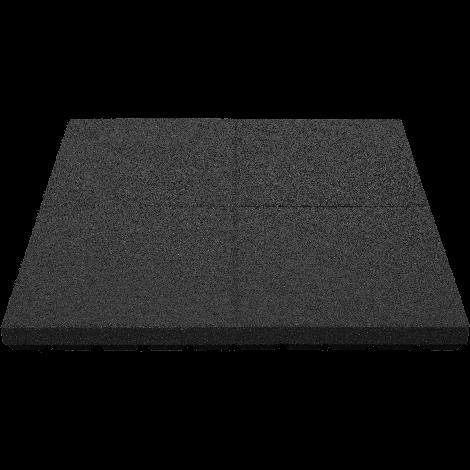 Gumilap esésvédő ReFlex - 8x100x100 cm fekete