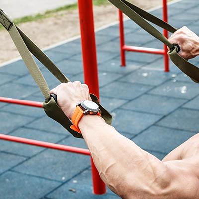 Gumilap kültéri fitness/street workout parkokba